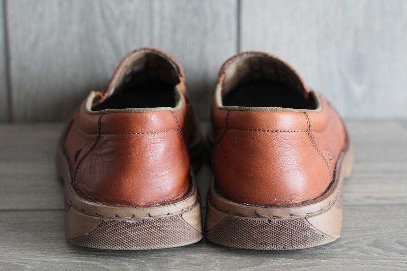 Легкие, кожаные, летние туфли rieker antistress 41 разм - Фото 3