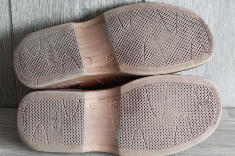 Легкие, кожаные, летние туфли rieker antistress 41 разм - Фото 5