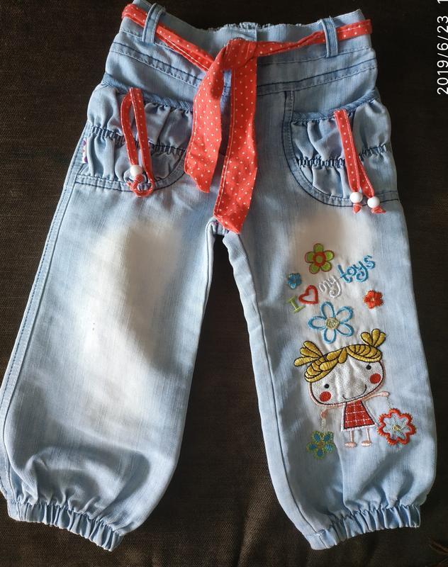 Летние джинсы для девочки Оryeda (турция) размер 3