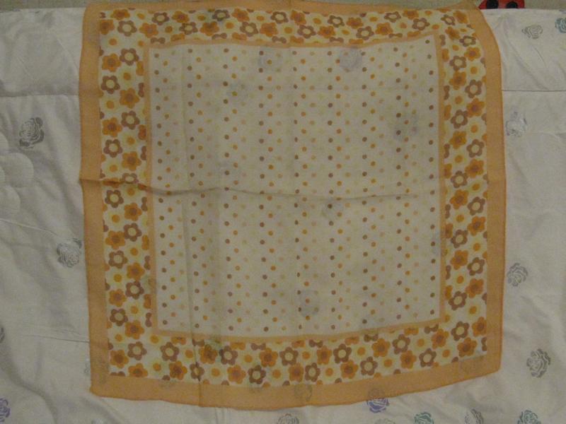 Уникальный платок с турмалином