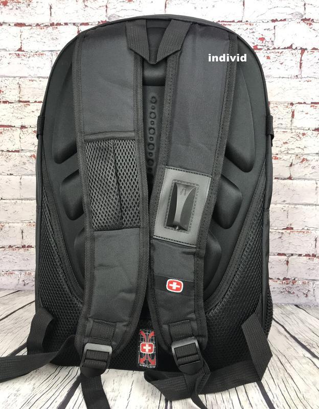 Швейцарский рюкзак с выходом на наушники. рюкзак swissgear. му... - Фото 6
