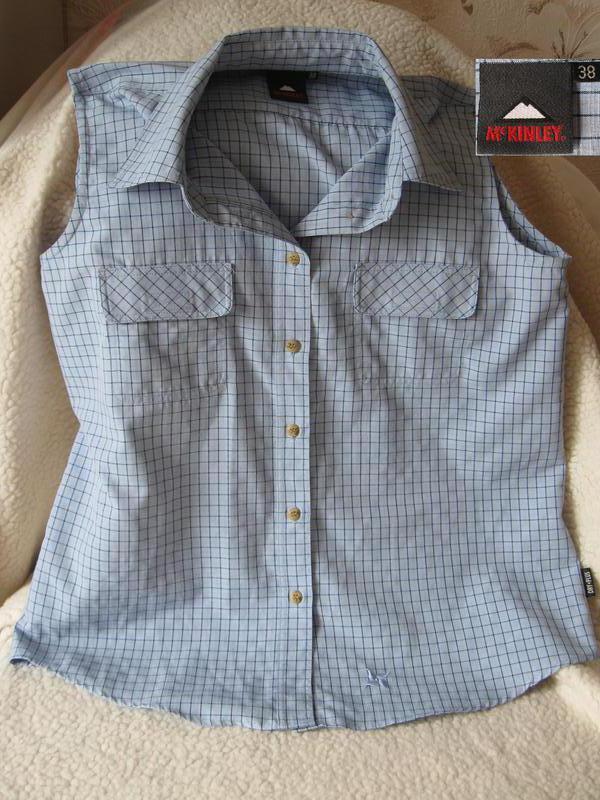Комфортная блуза без рукавов от mckinley dry plus