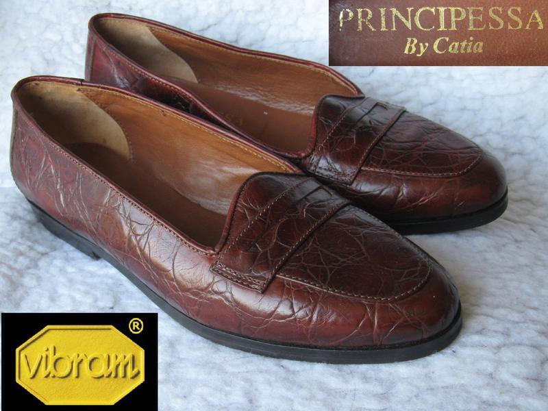 Туфли из «кожи крокодила» для принцессы от principessa by kati...