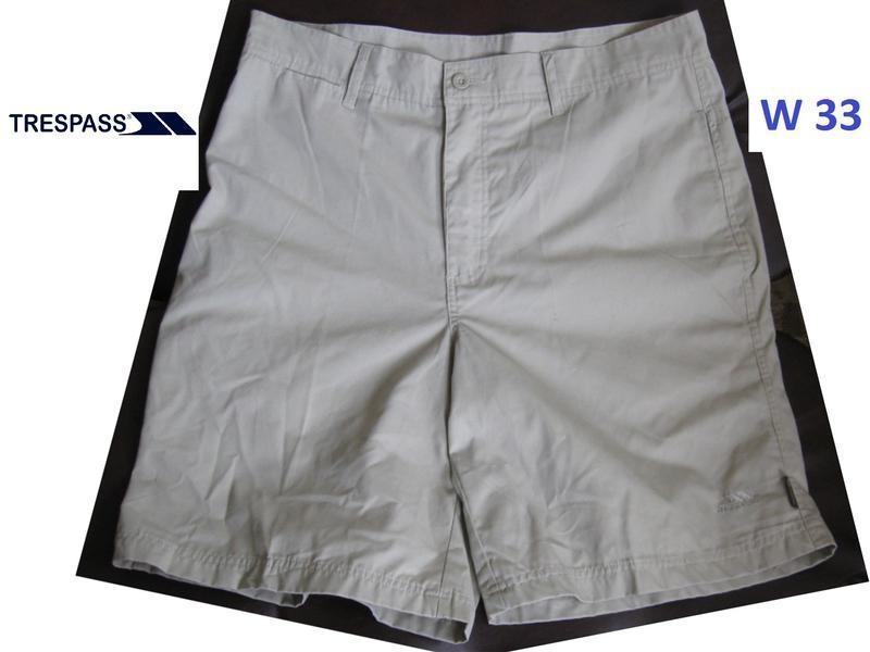 Легкие оригинальные шорты от trespass (scotland) w33