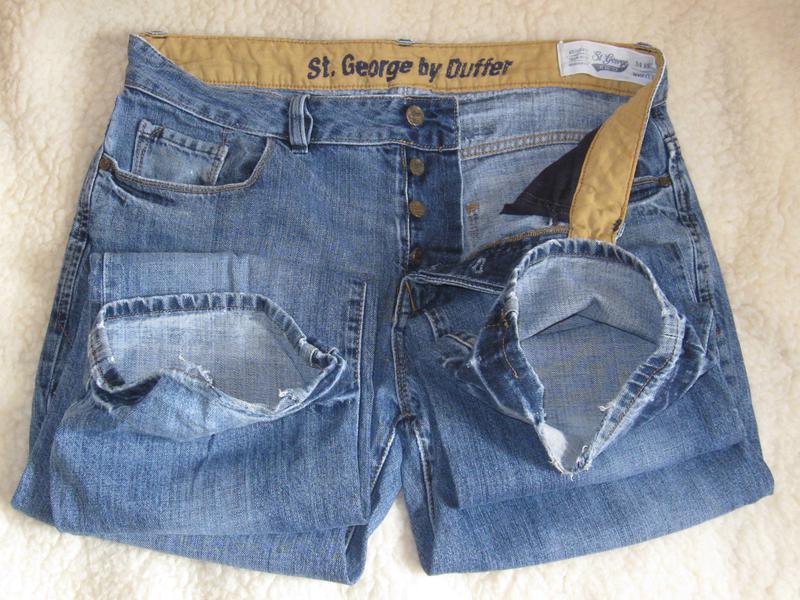Джинсы duffer st george w34l32 cotton безупречное британское к...