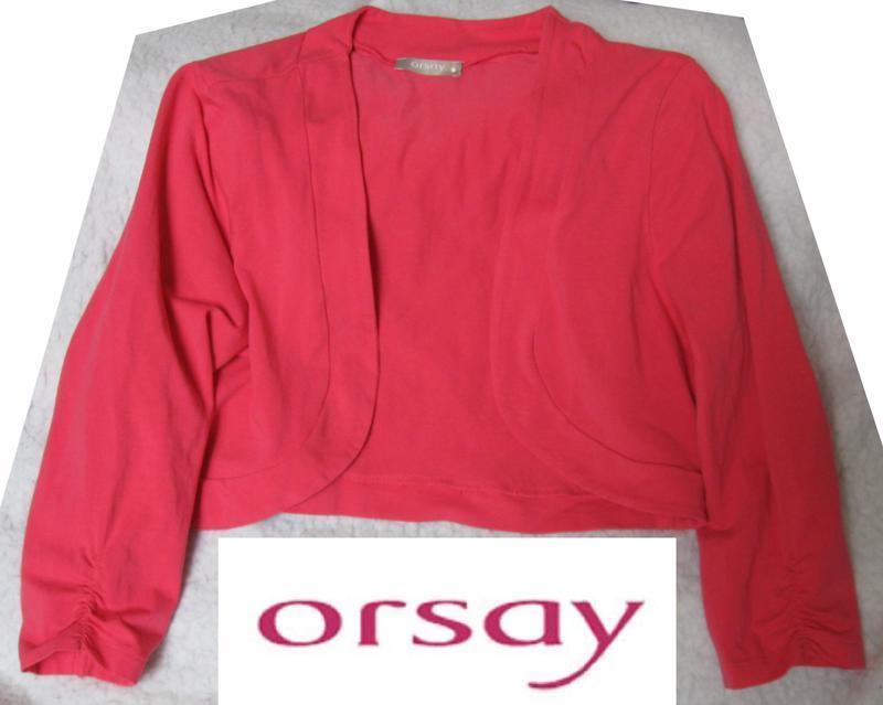 Элегантная розовая накидка с рукавами orsay германия.