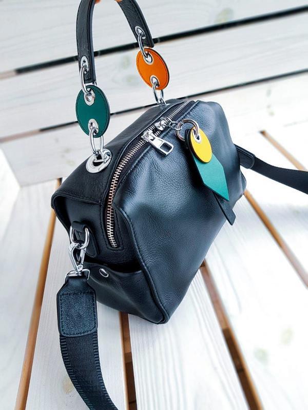 Женская кожаная сумка - Фото 3