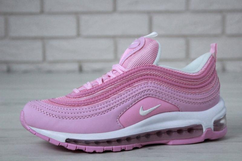Распродажа🔥удобные спортивные женские кроссовки nike 97 розово... - Фото 2