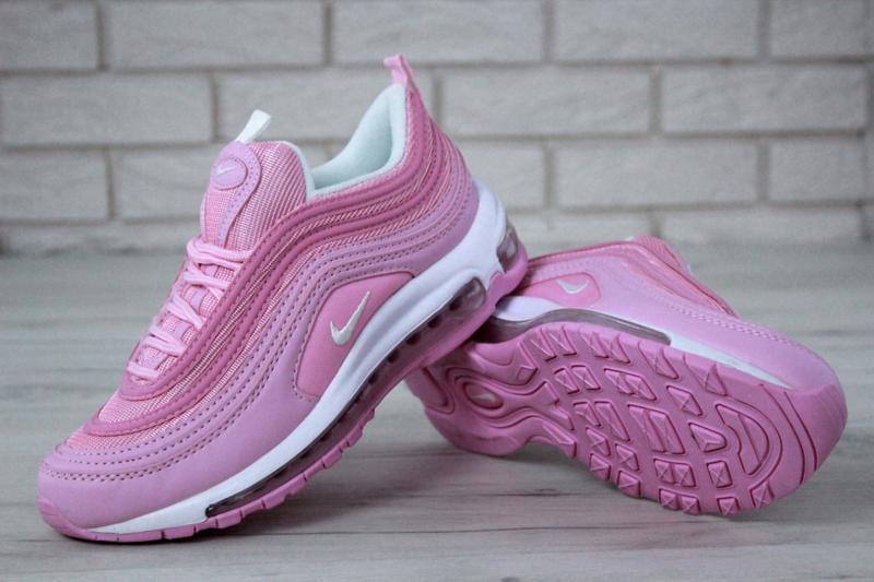 Распродажа🔥удобные спортивные женские кроссовки nike 97 розово... - Фото 6