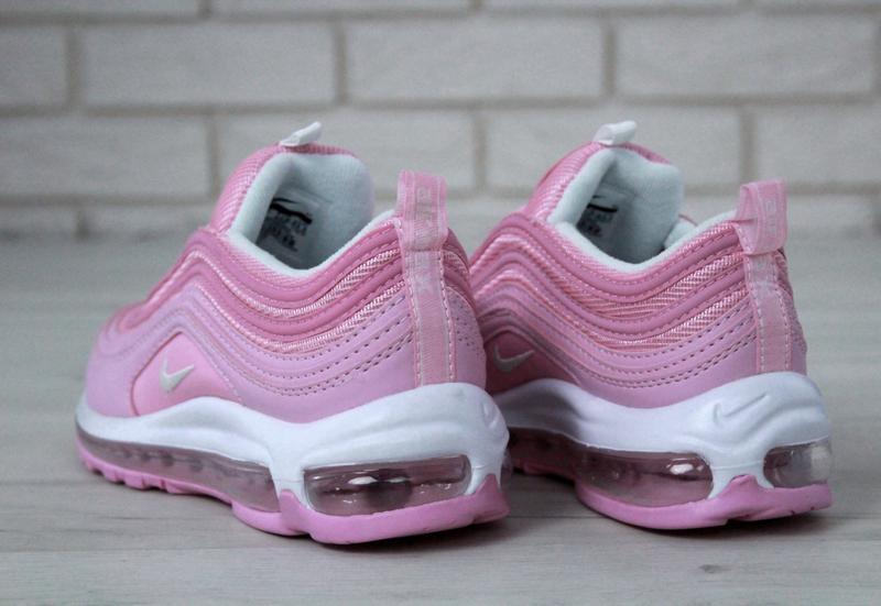 Распродажа🔥удобные спортивные женские кроссовки nike 97 розово... - Фото 7