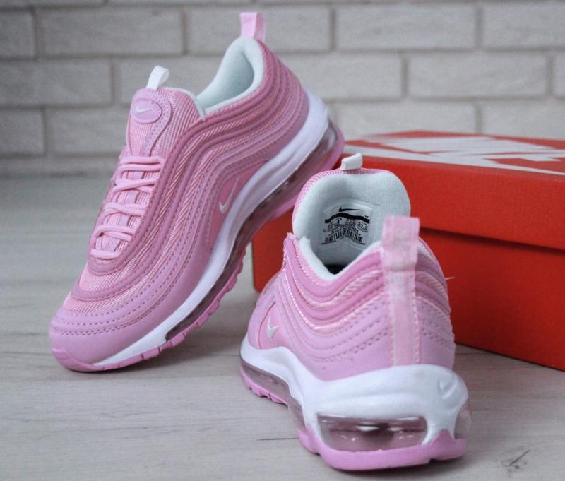 Распродажа🔥удобные спортивные женские кроссовки nike 97 розово... - Фото 9