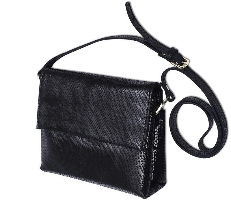 Сумка кожаная женская стильная с лазерной обработкой. сумочка ...
