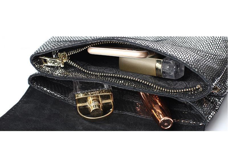 Сумка кожаная женская стильная с лазерной обработкой. сумочка ... - Фото 5