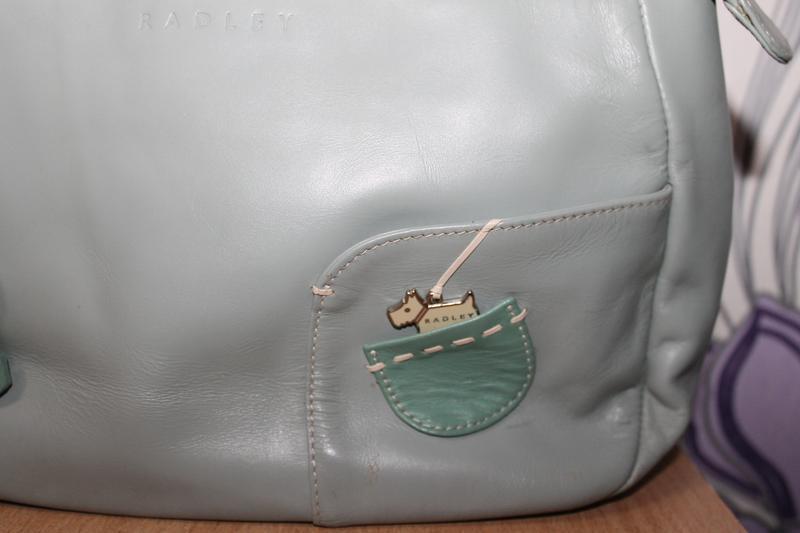 Кожаная сумка radley - Фото 3
