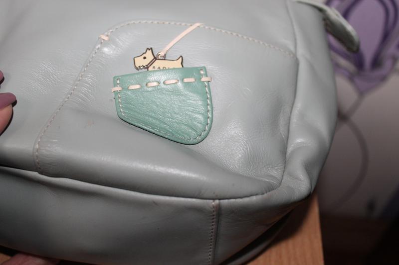 Кожаная сумка radley - Фото 4