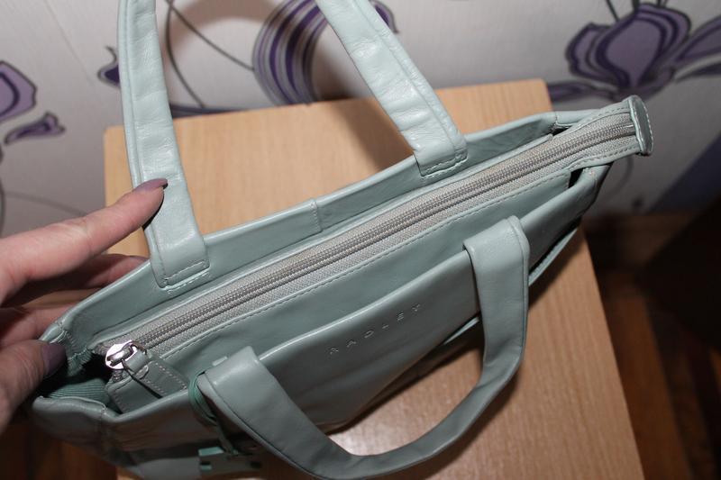 Кожаная сумка radley - Фото 5
