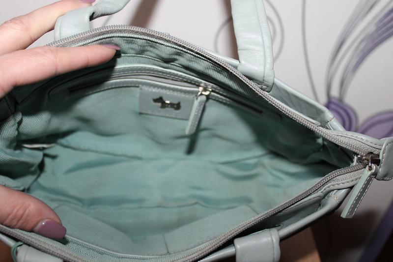 Кожаная сумка radley - Фото 7