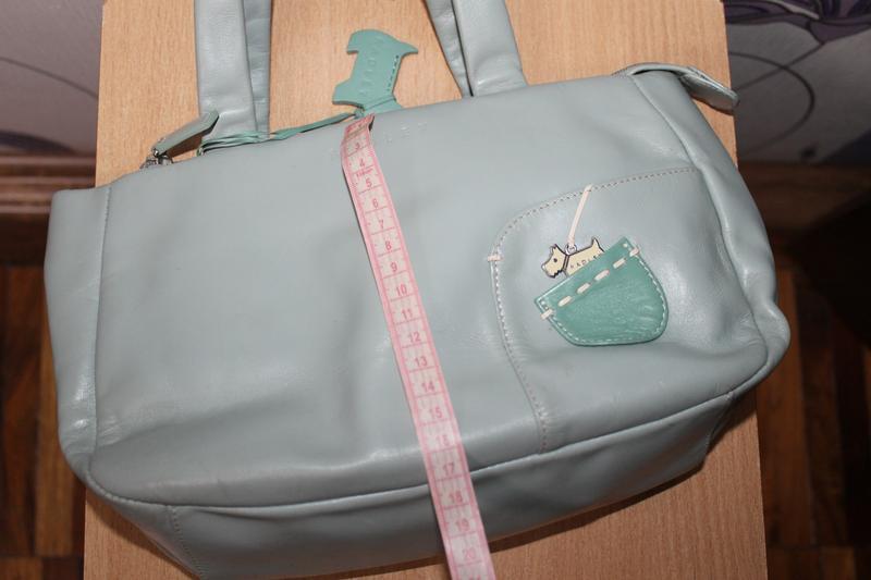 Кожаная сумка radley - Фото 9