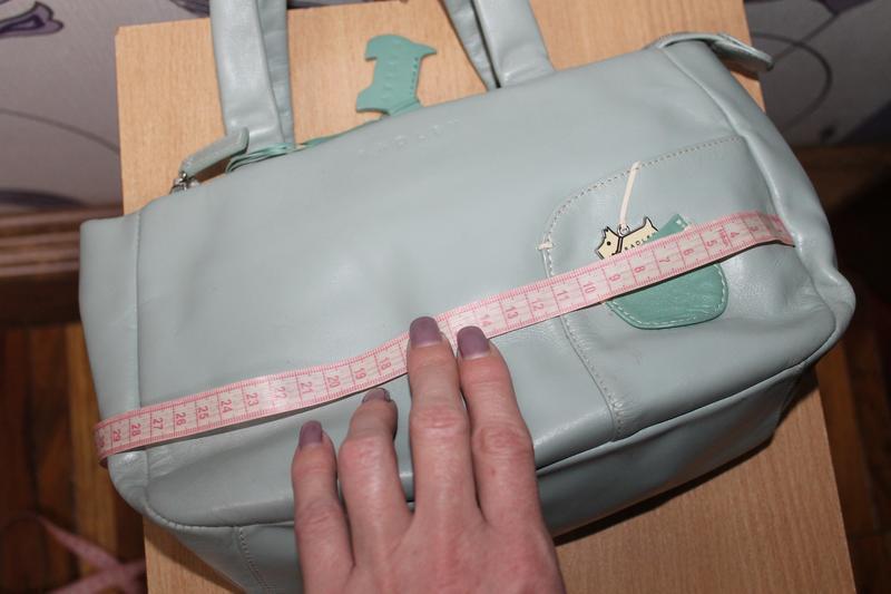 Кожаная сумка radley - Фото 10