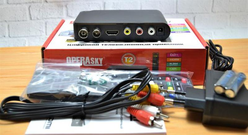 Цифровой эфирный тюнер T2 OPERA SKY OP-407 FullHD+YouTube+Wi-Fi - Фото 3