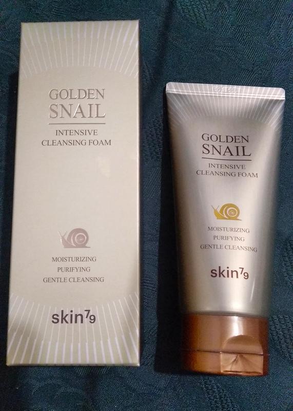 Пенка для умывания skin79 golden snail intensive cleansing foam