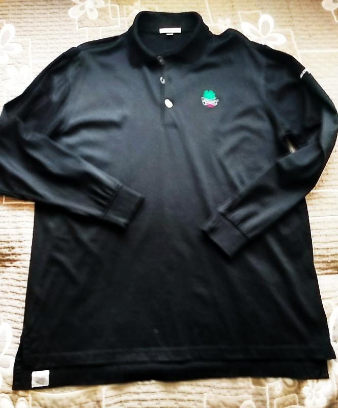 #peter millar # черная рубашка поло - Фото 5