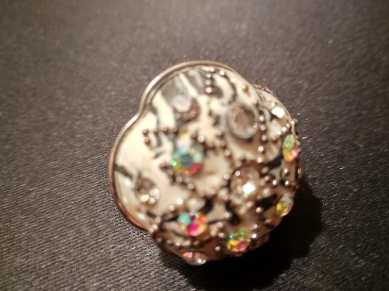 #крупное кольцо # бижутерия #винтаж