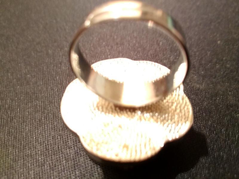 #крупное кольцо # бижутерия #винтаж - Фото 3