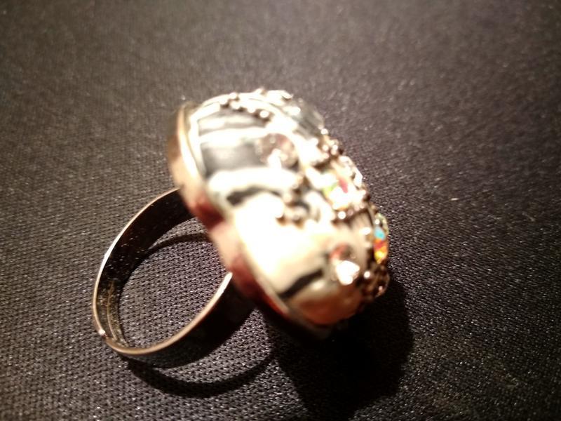 #крупное кольцо # бижутерия #винтаж - Фото 4