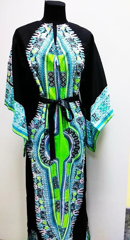 Tviga bou boundita  яркое платье -кимоно