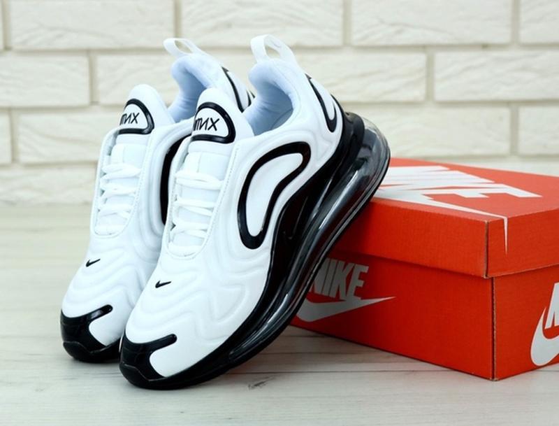 🌼🖤nike air max 720 white black🌼🖤женские демисезон кроссовки найк