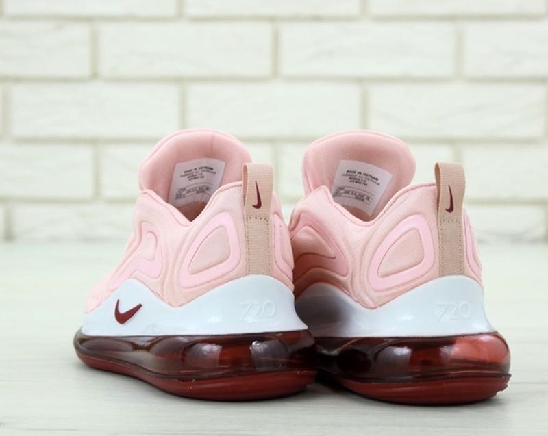 Женские кроссовки найк nike air max 720 pink, розовые демисезо... - Фото 5