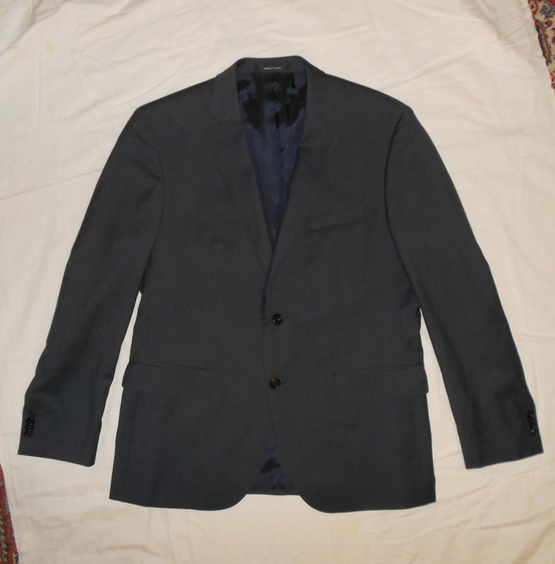 Уценка!! hugo boss пиджак из тонкой итальянской шерсти, р.52 - Фото 3