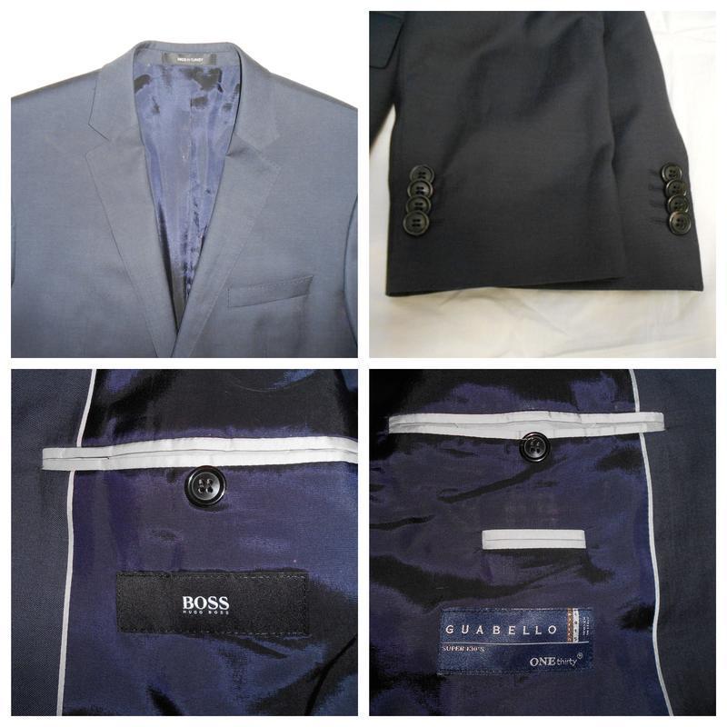 Уценка!! hugo boss пиджак из тонкой итальянской шерсти, р.52 - Фото 6