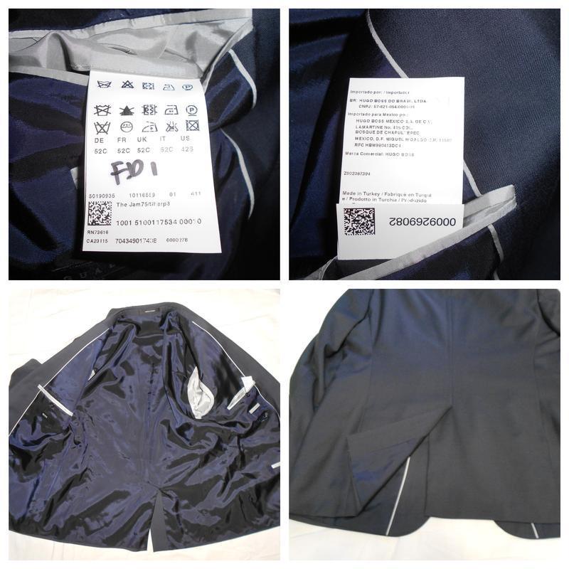 Уценка!! hugo boss пиджак из тонкой итальянской шерсти, р.52 - Фото 7