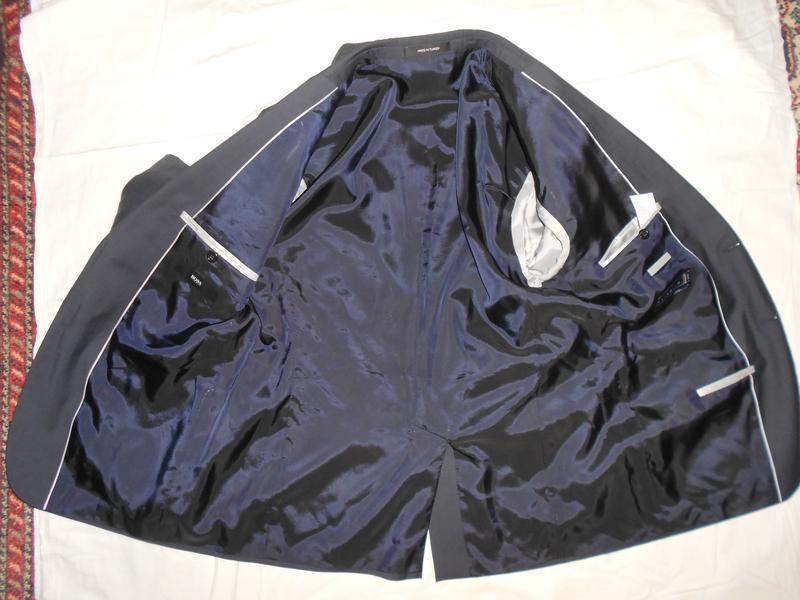 Уценка!! hugo boss пиджак из тонкой итальянской шерсти, р.52 - Фото 8