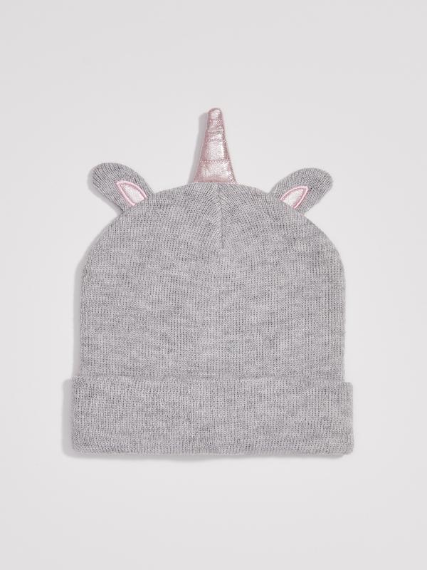 Прикольная шапка единорожка девочке от sinsay