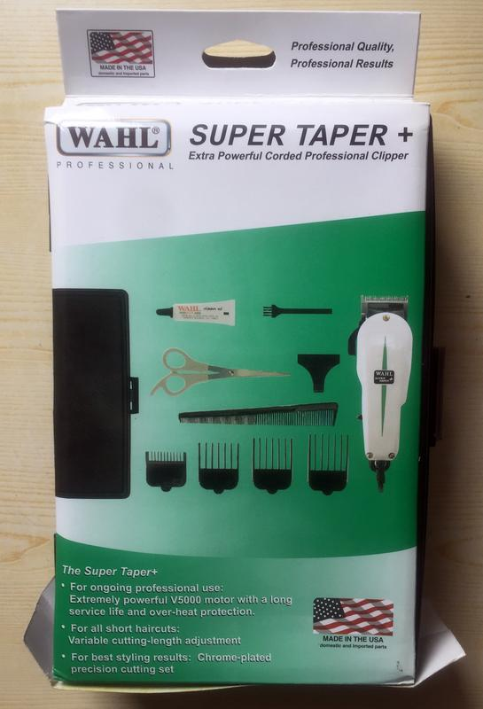 Машинка для стрижки волос WAHL Super Taper (США)