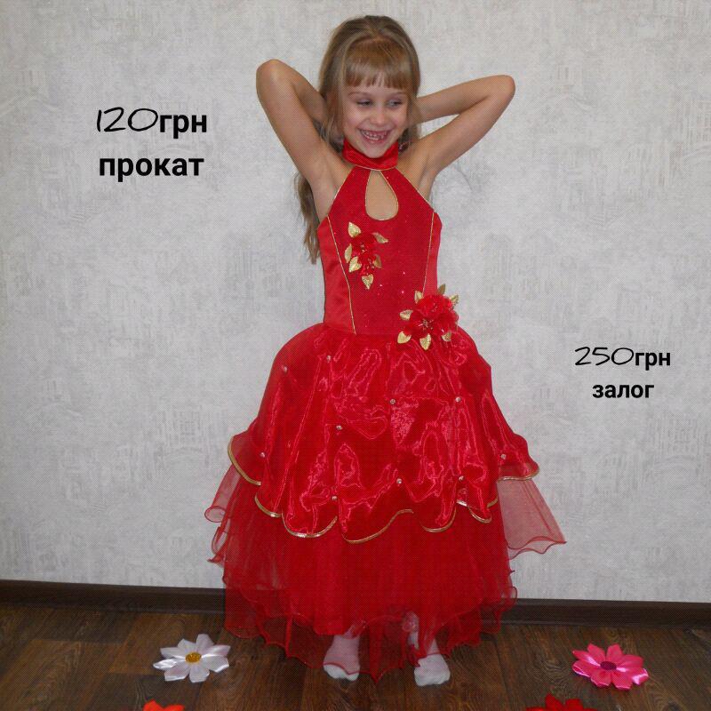 Пышное нарядное платье на утренник выпускной дни рождения фотосес - Фото 6