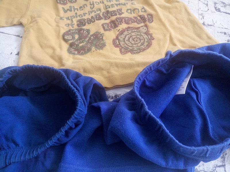 Комплект,футболка и шорты 2 шт.унисекс.1-2 года - Фото 6