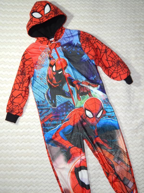 Человек паук пижама-кигуруми комбинезон слип комбез disney