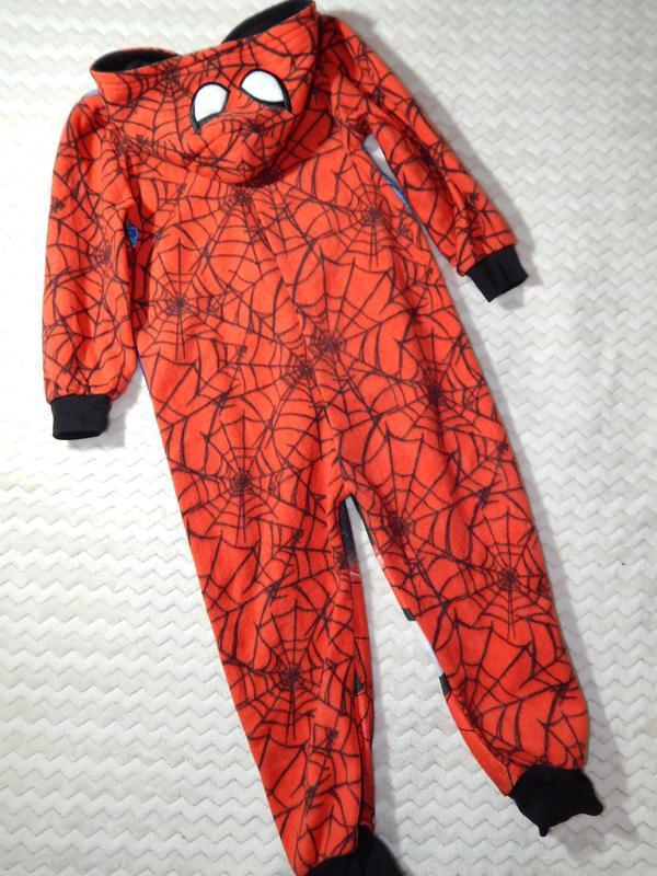 Человек паук пижама-кигуруми комбинезон слип комбез disney - Фото 2