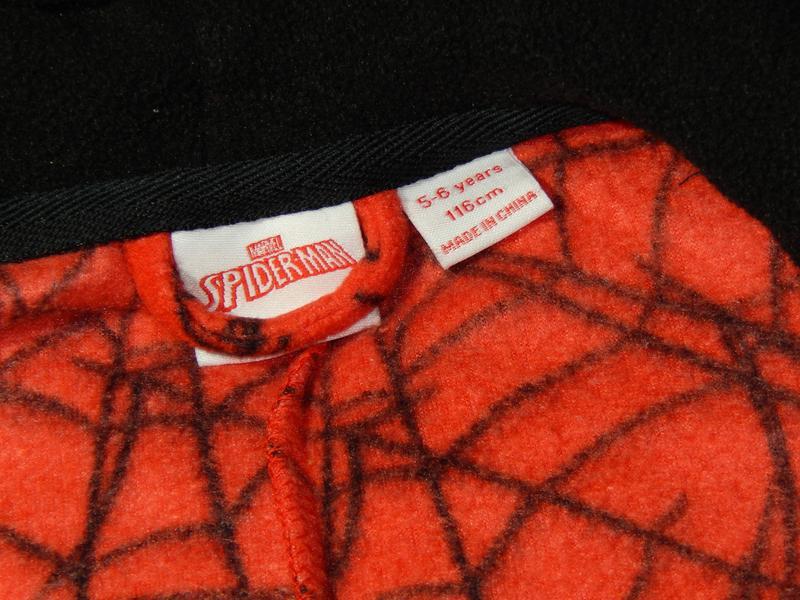 Человек паук пижама-кигуруми комбинезон слип комбез disney - Фото 4