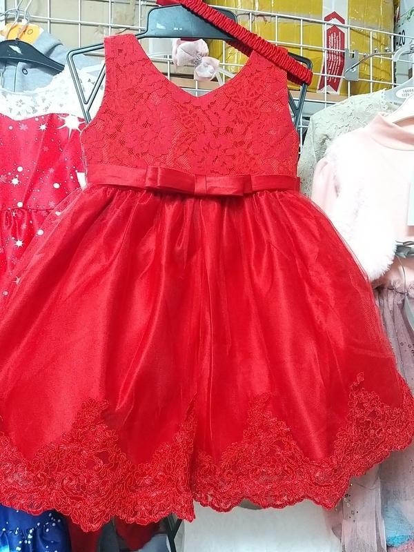 Шикарное  платье - Фото 4