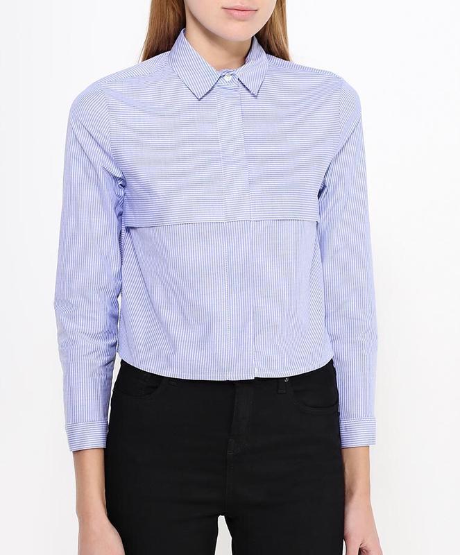 Шикарная укороченная рубашка topshop