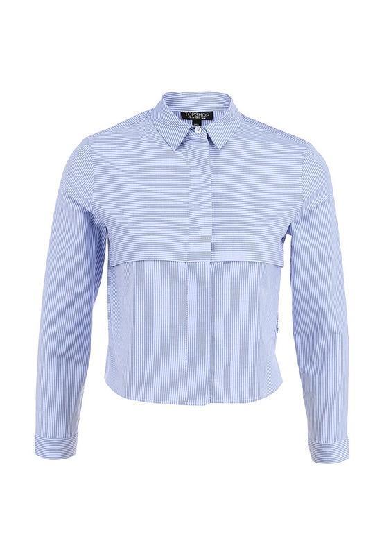 Шикарная укороченная рубашка topshop - Фото 4