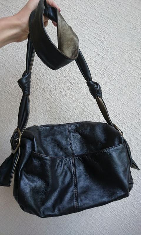Кожаная сумка кроссбоди ollie&nic