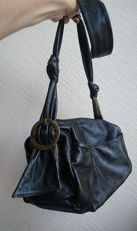 Кожаная сумка кроссбоди ollie&nic - Фото 3