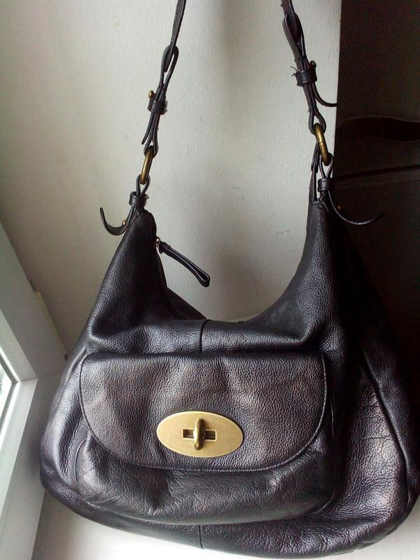 Кожаная сумка tula