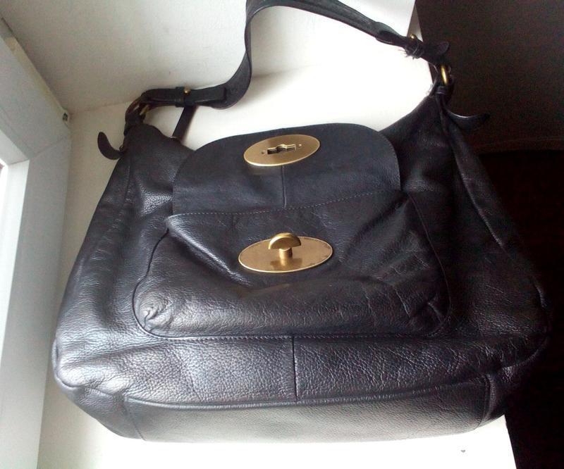 Кожаная сумка tula - Фото 3